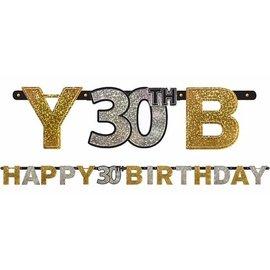 Letter Banner - 30th Birthday-7ft