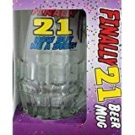 Beer Mug - Finally 21