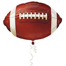 "Foil Balloon - Football - 18"""