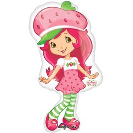 "Foil Balloon - Strawberry Shortcake - 15"" X 31"""