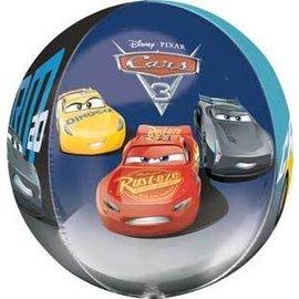 Foil Balloon-Cars 3-18''