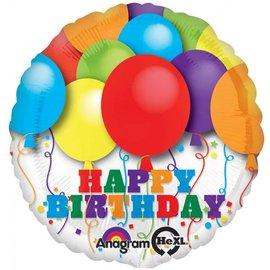 Foil Balloon-Happy Birthday Balloons-18''