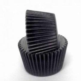 Baking Cups-Black -1.25''-100pk