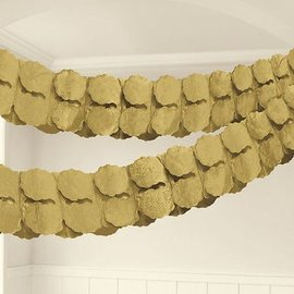 Paper Garland - Gold-12ft