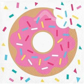Napkins-BEV-Donut Time-16pk-2ply