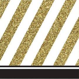 Napkins-BEV-Black and Gold-16pk-3ply