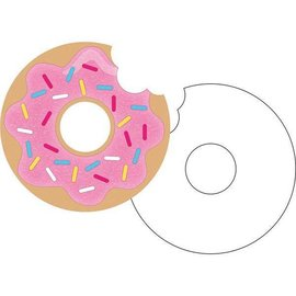 Invitations-Donut Time-8pk