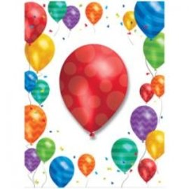 Invitations-Balloon Blast-8pk