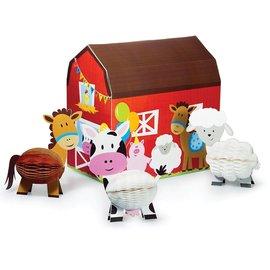 Centerpiece Set-Farmhouse Fun-4pk