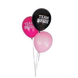 "Balloons Latex - Team Bride (15PK) 12"""