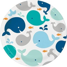Plates-LN-LIL Spout Blue-8pk-Paper