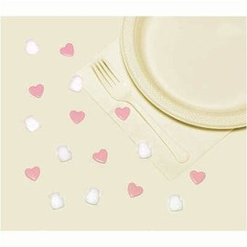 Table Sprinkles-White and PInk-16pk