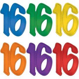 Cutout-Metallic Rainbow Color 16-13''-1pc(Choose Color)
