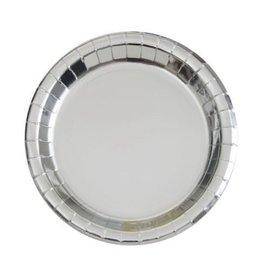 Plates-LN-Silver Foil-8pk