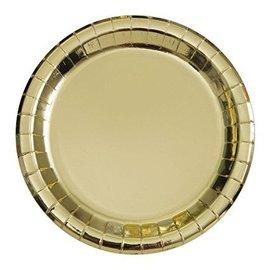Plates-BEV-Gold Foil-8pk