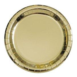Plates-LN-Gold Foil-8pk