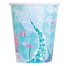 Cups-Mermaid-9oz-8pk
