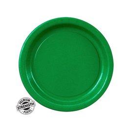 Plates-BEV-Emrald Green-24pk-Paper