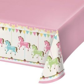 Table Cover-Carousel-54''x102''-Plastic