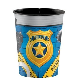 Plastic Cup-Police Party-16oz