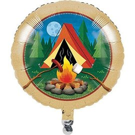 Foil Balloon-Camp Out-18''