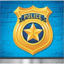 Napkins-BEV-Police Party-16pk-2ply