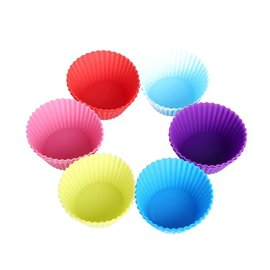 Baking Cup-Multi Colors-100pk