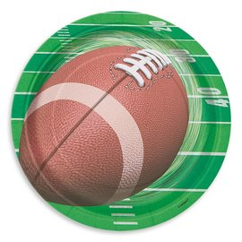 Paper Plates - Football Game Day - 8pc