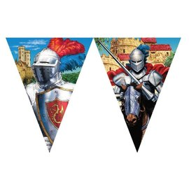 Flag Banners-Valiant Knight-12ft-Plastic