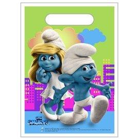 Loot Bags-Smurf-8pk