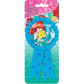Award Ribbon-Little Mermaid Ariel w/Confetti