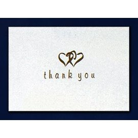 Thank You-Linked Heart Gold