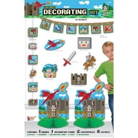 Minecraft - Medieval Decorating Kit - 10pcs
