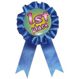 Award Ribbon - 1st Place Blue