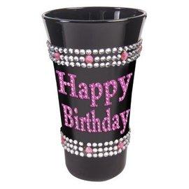 Shot Glass - Happy Birthday Pink