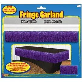 Fringe Garland Purple