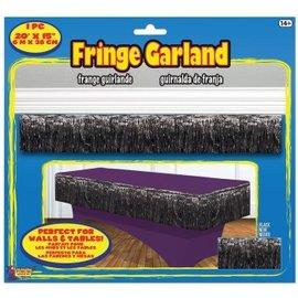 Fringe Garland Black
