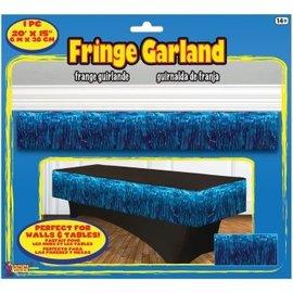 Fringe Garland Blue