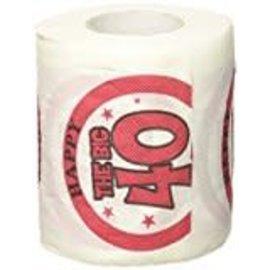 Toilet paper-The Big 40th Birthday
