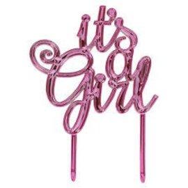 Cake Topper - It's a Girl