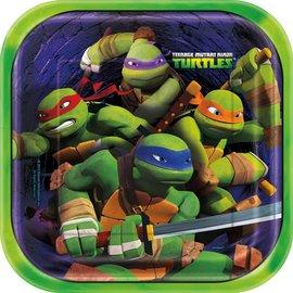 Bev Plates - Ninja Turtles
