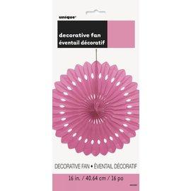 Paper Fan - Hot Pink