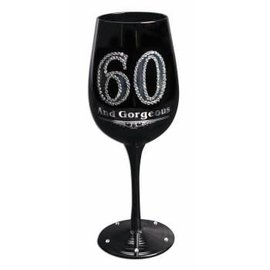 Wine Glass - 60 And Gorgeous