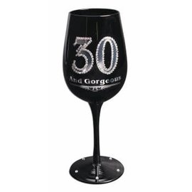 Wine Glass - 30 And Gorgeous