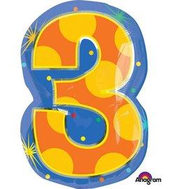 "Foil Balloon #3 - 14x20"""