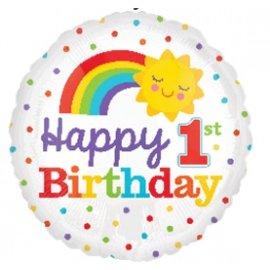 Foil Balloon - 1st Birthday