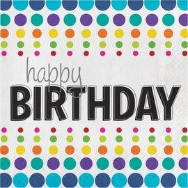 Napkins LN - Happy Birthday Pop- Discontinued