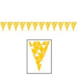 Banner - School Bus Yellow Fractal