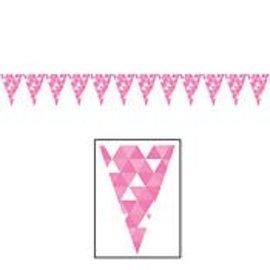Banner - Candy Pink Fractal