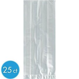 Cello Bag - Clear - 5 x 11.5 x 3 in (25 pk)